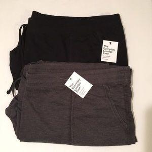 Bundle of black and gray lounge pants